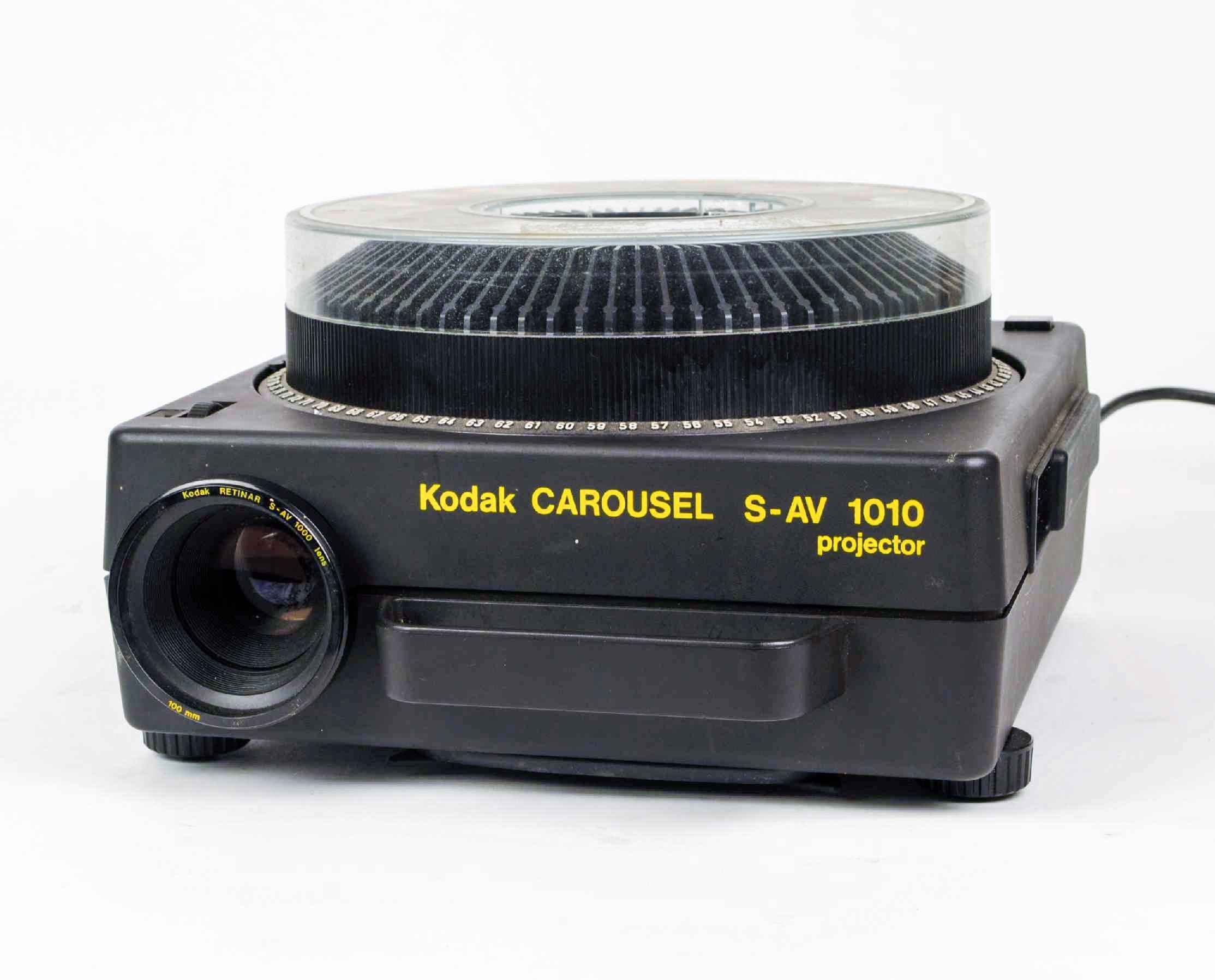 kodak carousel s av 1010 slide projectors spare parts and rh van eck net Kodak Slide Projector Kodak Movie Projectors