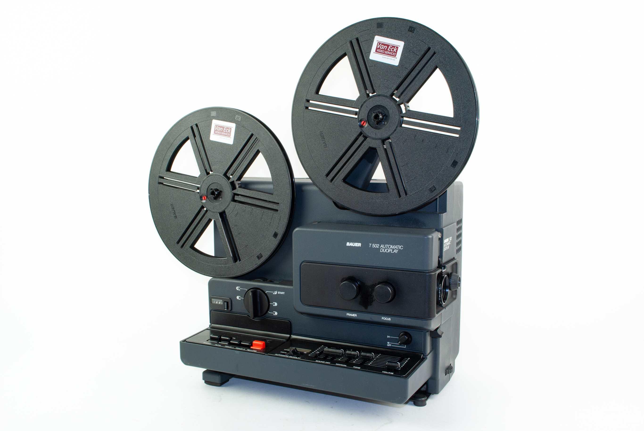 Bauer T502 Automatic Duoplay (super8 met geluid) (gebruikt)