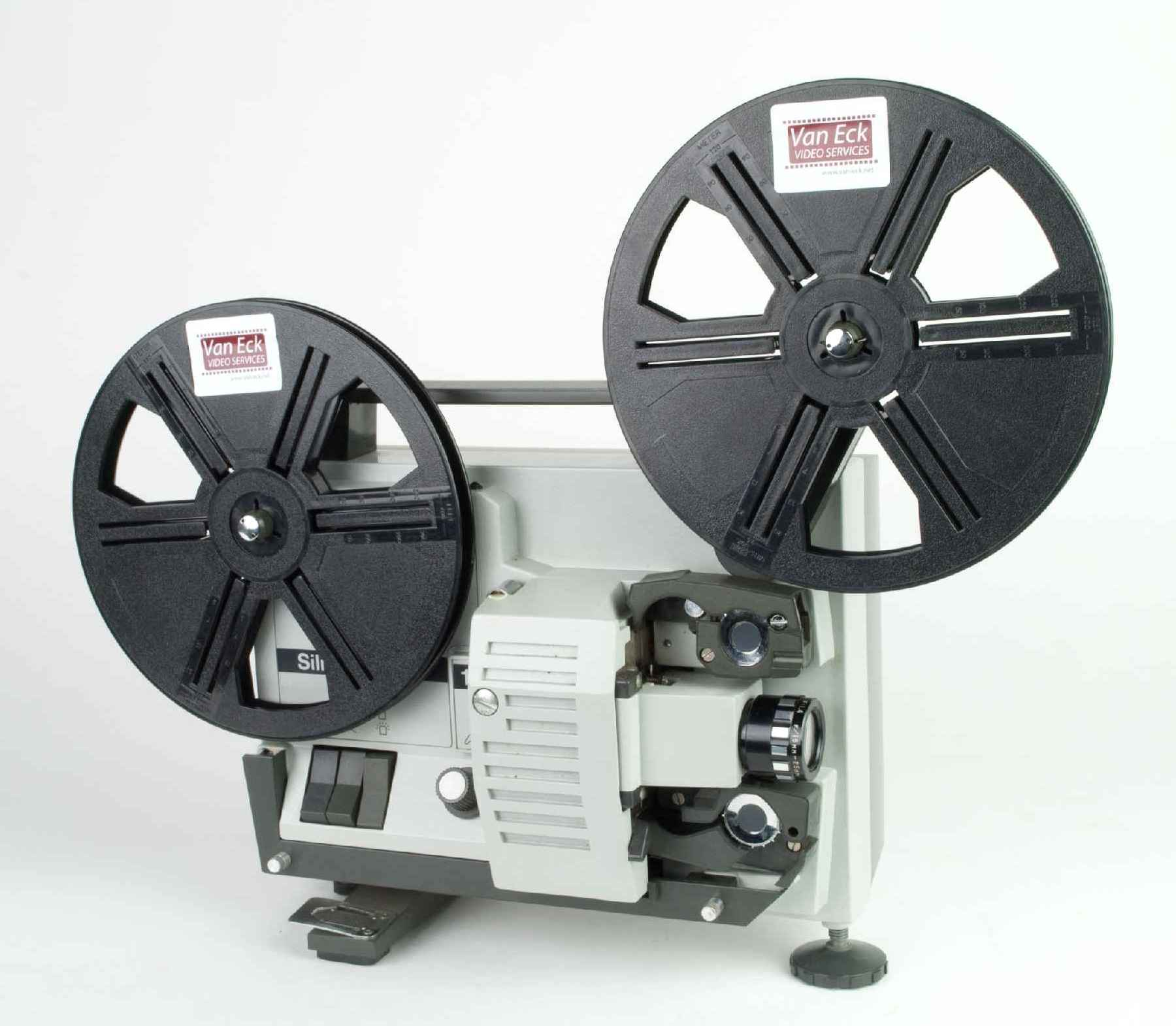 silma 128 super8  filmprojectoren