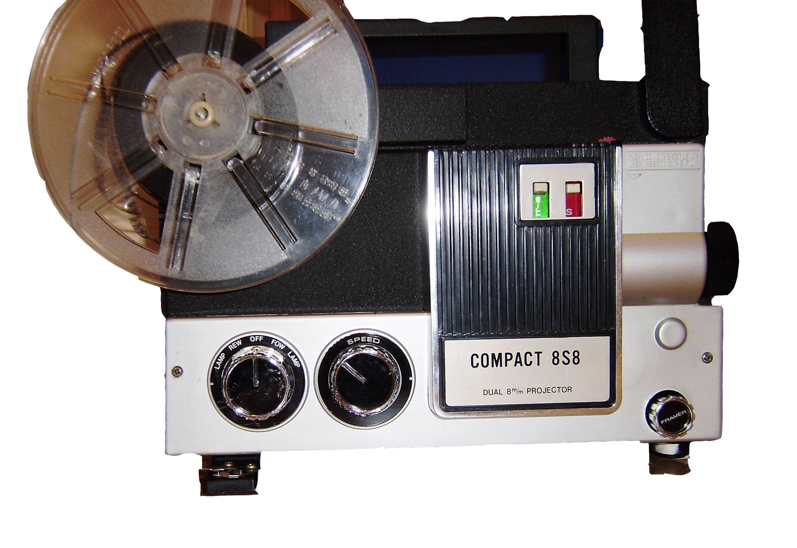 8S8 dual 8mm projector