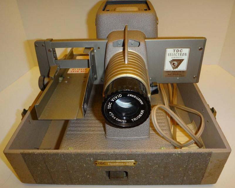 Headliner 303 slide projector