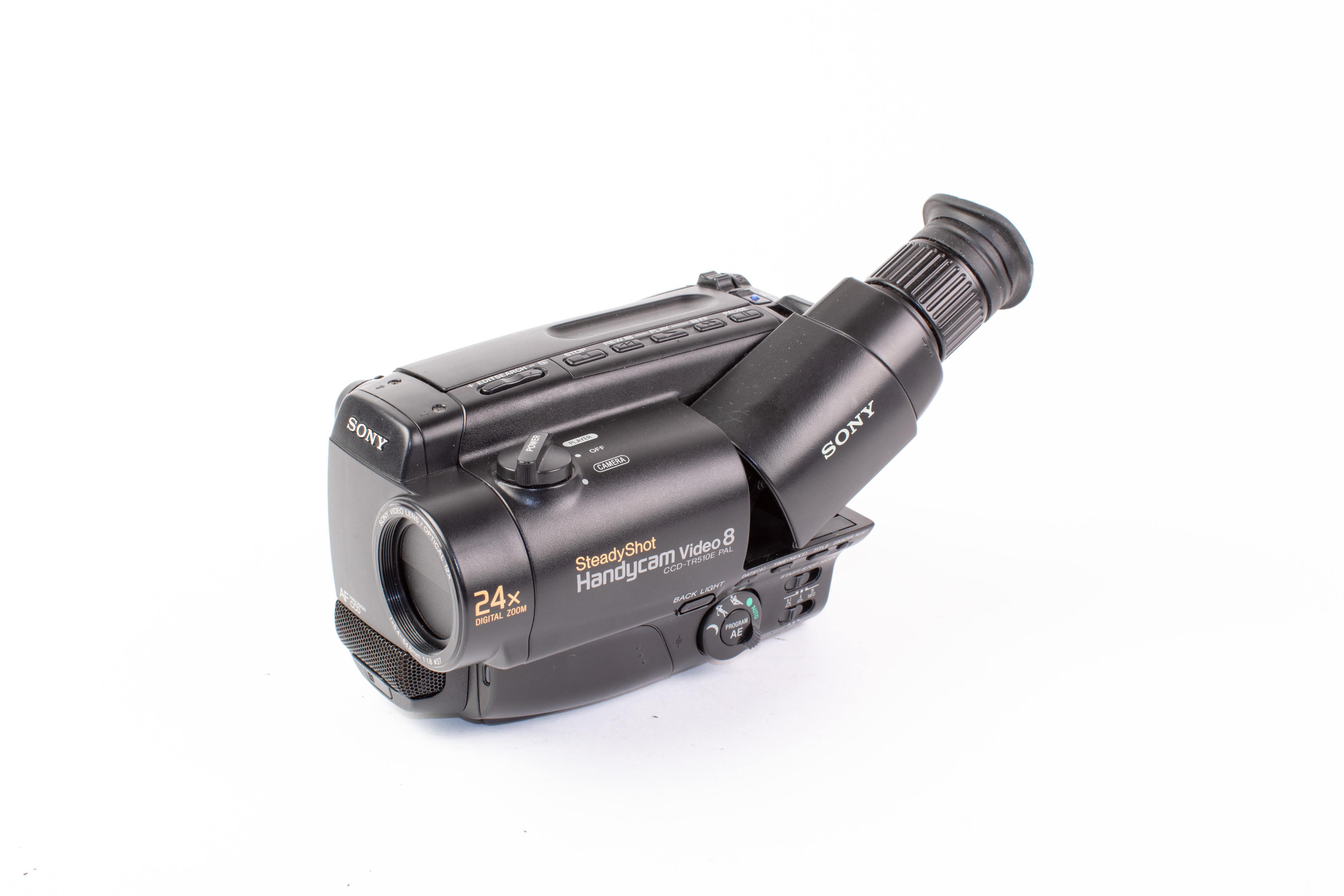 Sony CCD-TR510E (video8 PAL) (gebruikt)